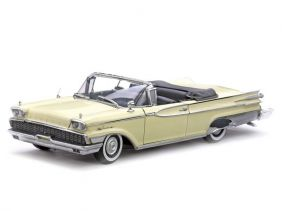 1959 Mercury Park Lane Open Convertible - Escala 1:18 - Sun Star