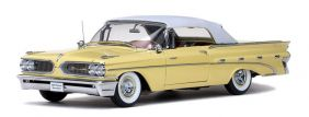 1959 Pontiac Bonneville Closed Convertible - Escala 1:18 - Sun Star