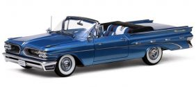 1959 Pontiac Bonneville Open Convertible - Escala 1:18 - Sun Star