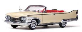 1960 Plymouth Fury Open Convertible - Escala 1:18 - Sun Star