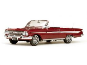 1961 Chevrolet Impala Open Convertible - Escala 1:18 - Sun Star