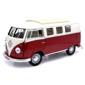 1962 Volkswagen Microbus Kombi - Escala 1:18 - Yat Ming