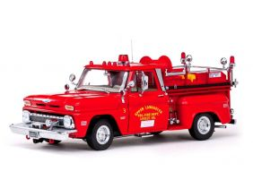 1965 Chevrolet C-20 Fire Truck - Escala1:18 - Sun Star