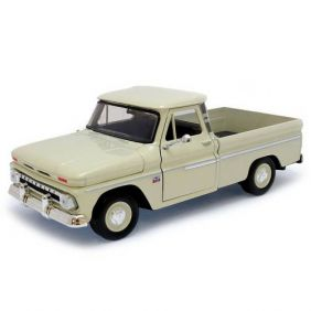1966 Chevrolet C-10 Fleetside Pickup - Escala 1:24 - Motormax