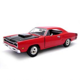 1969 Dodge Coronet Super Bee - Escala 1:24 - Motormax