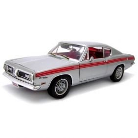 1969 Plymouth Barracuda Formula S 383 - Escala 1:18 - Highway 61