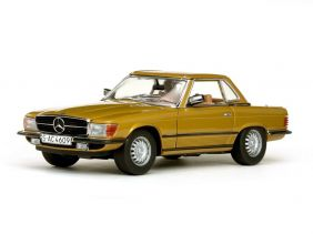 1977 Mercedes-Benz 350 SL Hard Top Coupe - Escala 1:18 - Sun Star