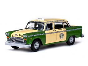 1981 Checker A11 Chicago Cab Taxi - Escala 1:18 - Sun Star