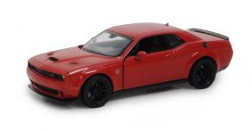 2018 Dodge Challenger SRT Hellcat Widebody - Escala 1:24 - Motormax