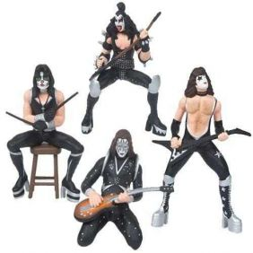 The Demon, The Starchild, The Starman e The Catman - KISS - Superstar Toys