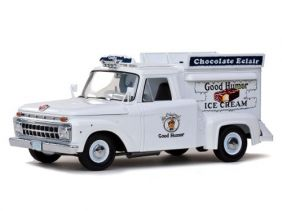1965 Ford F-100 Pickup - Good Humor Ice Cream - Escala 1:18 - Sun Star