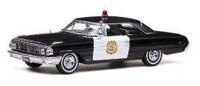 1964 Ford Galaxie 500 Minneapolis Police Car - Escala 1:18 Sun Star