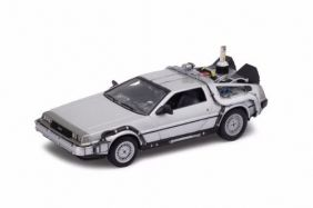 DeLorean Time Machine - Back To The Future II - Escala 1:24 - Welly