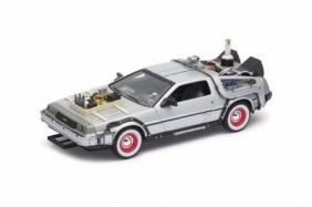 DeLorean Time Machine - Back To The Future III - Escala 1:24 - Welly
