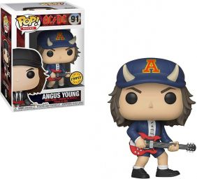 Angus Young #91 - AC/DC - Funko Pop! Rocks Chase Limited Edition