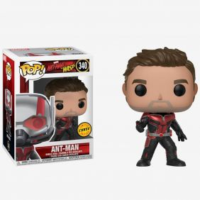 Ant-Man #340 (Homem-Formiga) - Ant-Man and The Wasp (Homem-Formiga e Vespa) - Funko Pop! Marvel Chase Limited Edition