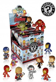 12x Avengers Age of Ultron - Funko Mystery Minis