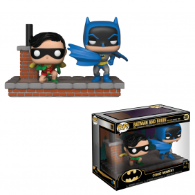 Batman and Robin #281 - New Look Batman 1964 - Comic Moments - Funko Pop! Heroes