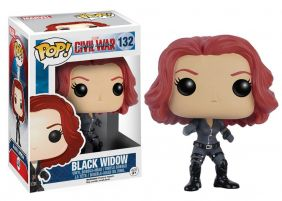Black Widow #132( Viúva Negra ) - Captain America Civil War ( Capitão América Guerra Civil ) - Funko Pop! Marvel