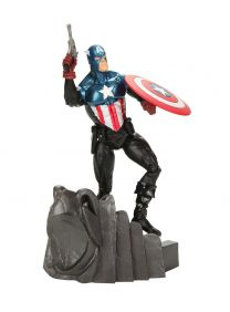 Captain America ( Capitão América ) - Marvel Select - Diamond Select Toys.