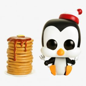 Chilly Willy with pancakes #486 (Picolino com panquecas) - Funko Pop! Animation