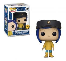 Coraline in Raincoat #423 - Funko Pop! Animation Chase Limited Edition