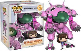 """D.VA with MEKA 6"""" #177 - Overwatch - Funko Pop! Games"""