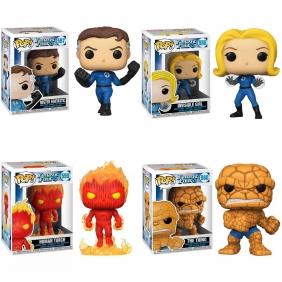 Fantastic Four (Quarteto Fantástico) - Funko Pop! Marvel
