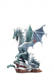 Ice Dragon ( Dragão de Gelo ) - The Fall of the Dragons Kingdom Series 7 - McFarlane