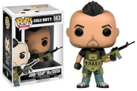 John Soap MacTavish #143 - Call of Duty - Funko Pop! Games