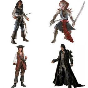 Pirates of The Caribbean Dead Man's Chest ( Piratas do Caribe Baú da Morte ) - NECA