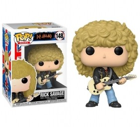 Rick Savage #148 - Def Leppard - Funko Pop! Rocks