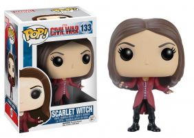 Scarlet Witch #133 ( Feiticeira Escarlate ) - Captain America Civil War ( Capitão América Guerra Civil ) - Funko Pop! Marvel