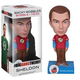 Sheldon Cooper - The Big Bang Theory - Funko Wacky Wobbler