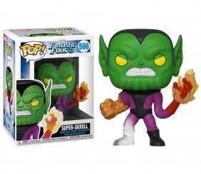 Super-Skrull #566 (Superskrull) - Fantastic Four (Quarteto Fantástico) - Funko Pop! Marvel