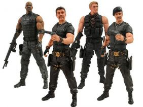 The Expendables 2 ( Os Mercenários 2 ) - Diamond Select Toys