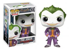 The Joker #53 ( Coringa ) - Batman Arkham Asylum - Funko Pop! Heroes