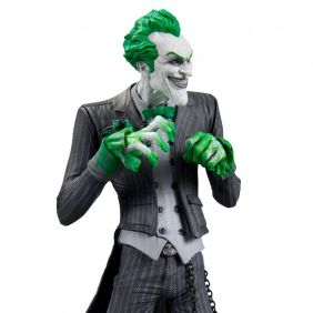 The Joker ( Coringa ) - Batman Arkham City - DC Collectibles