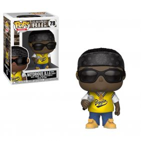 The Notorious B.I.G. with Jersey #78 - Funko Pop! Rocks
