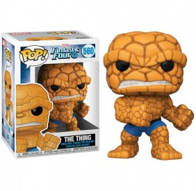 The Thing #560 (O Coisa) - Fantastic Four (Quarteto Fantástico) - Funko Pop! Marvel