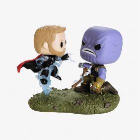 Thor VS. Thanos #707 - Avengers Infinity War (Vingadores Guerra Infinita) - Funko Pop! Marvel Movie Moments