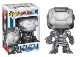 War Machine #128 ( Máquina de Combate ) - Captain America Civil War ( Capitão América Guerra Civil ) - Funko Pop! Marvel