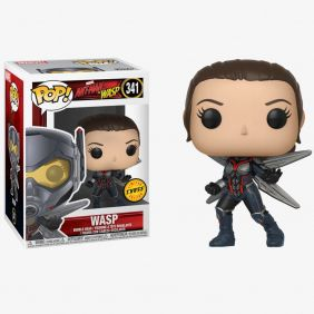 Wasp #341 (Vespa) - Ant-Man and The Wasp (Homem-Formiga e Vespa) - Funko Pop! Marvel Chase Limited Edition