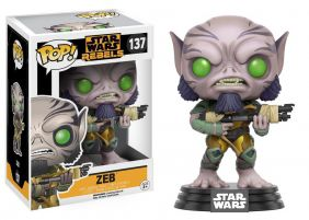 Zeb Orrelios #137 - Star Wars Rebels - Funko Pop!