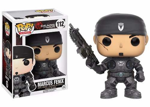 Marcus Fenix #112 - Gears of War - Funko Pop! Games