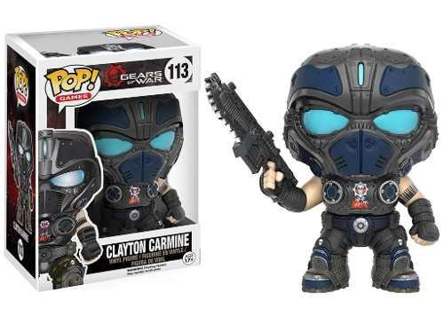 Clayton Carmine #113 - Gears of War - Funko Pop! Games
