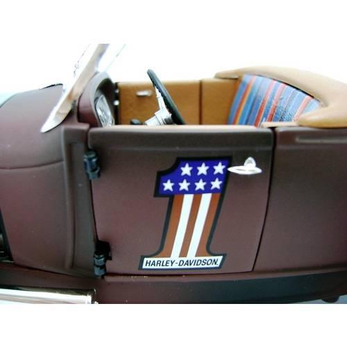 1929 Ford Harley Davidson Hot Rod - Escala 1:18 - Highway 61