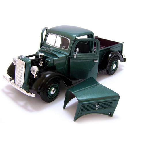 1937 Ford Pickup - Escala 1:24 - Motormax