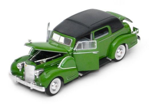 1938 Cadillac V16 Fleetwood - Escala 1:32 - Signature Models
