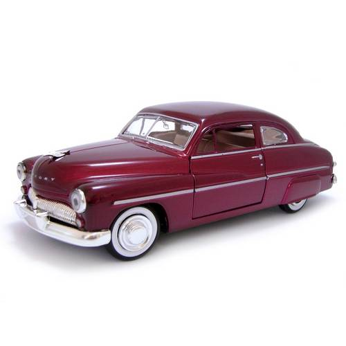 1949 Ford Mercury - Escala 1:24 - Motormax
